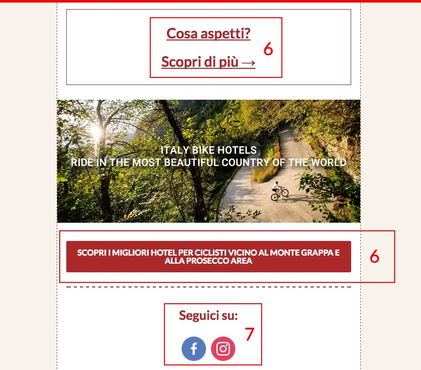 Call to action newsletter efficaci