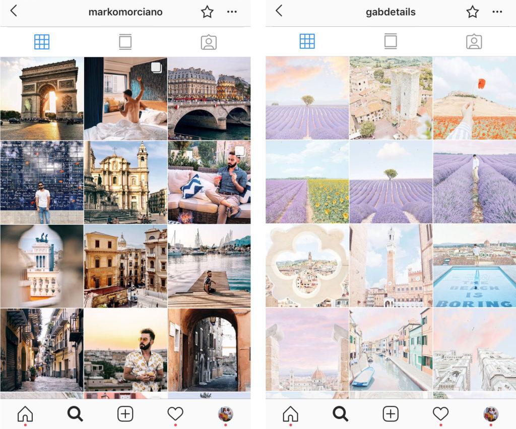 filtri instagram per hotel